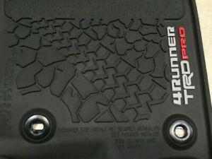 Genuine Toyota 4Runner TRD Pro All Weather Floor Liners/Mats PT908-89200-02