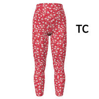 TC LuLaRoe AMORE VALENTINE'S DAY Leggings ~WHITE FLOWERS ON RED~ Sizes 12-18