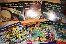 Magic School Bus Books Lot Of 18 RL 2/3 Library HC 1st Editions 1989 Orig READ