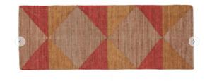 Habitat Ava Jute Runner 70 x 200cm Multicoloured Carpet Rug Triangle Pattern