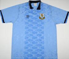 1990 SCOTLAND CENTENARY UMBRO HOME FOOTBALL SHIRT (SIZE L)