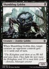 MTG 4x SHAMBLING GOBLIN - GOBLIN BARCOLLANTE - CN2 - MAGIC