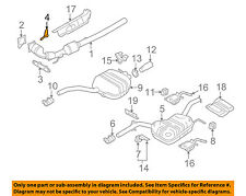VW VOLKSWAGEN OEM 09-17 CC 2.0L-L4 Exhaust-Converter & Pipe Shield 3C0253243A