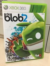 De Blob 2 (Xbox 360) Good Complete Game THQ Tested & Works, FAST Shipping!!