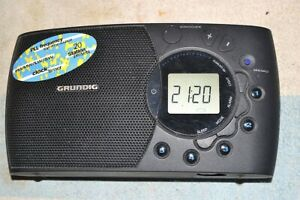 GRUNDIG OCEAN BOY 350 AM-FM-LW-SW PORTABLE RADIO EURO model-9 kHz AM step ONLY