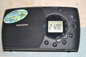 GRUNDIG OCEAN BOY 350 AM-FM-LW-SW PORTABLE RADIO EURO model-9 kHz AM step ONLY