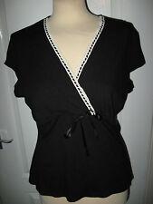 V Neck Cap Sleeve Stretch Tops & Shirts NEXT for Women