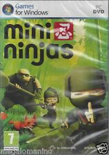PC Gioco **MINI NINJAS** Nuovo Originale Italiano