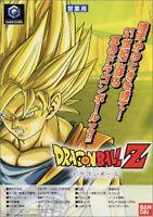 USED Gamecube Dragon Ball Z Japan import