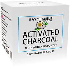 Aktivkohlenpulver 100%Kokosnunss Zahnaufhellung Zahnaufheller Activated Charcoal
