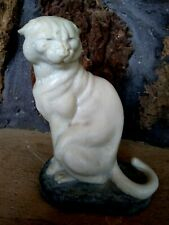 Cougar By Joseph L. Boulton 6-1/2 inch, Foundry Stone Mountain Lion , Signed