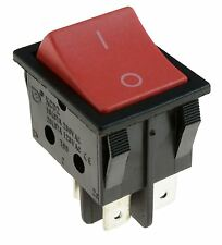 Numatic Henry Hoover Red On-Off Large Rectangle Rocker Switch DPST