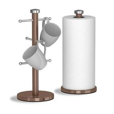 Morphy Richards Accents RAME 6 Tazza Mug ALBERO cucina Rullo Carta Asciugamano Pole Set