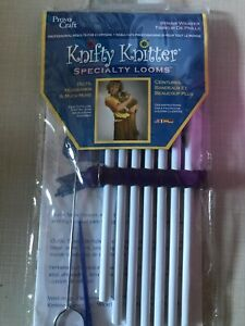 Knifty Knitter Specialty Straw Weaver Loom-Provo Craft, Make Belts, Headbands +