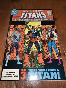 Tales Of The Teen Titans #44 Perez 1st App Nightwing Jericho Deathstroke 1984 Vf