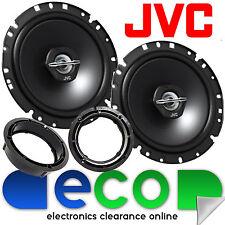 VW Polo 6R 2009-2014 JVC 17cm 600 Watts 2 Way Front Door Car Speakers & Brackets