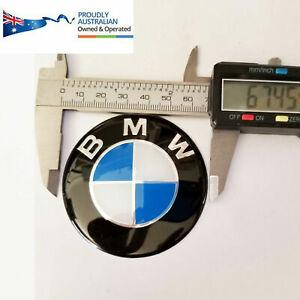 68mm BMW Tailgate Boot Badge Emblem Sticker Roundel E30 E36 E46 E90 E92 E93 E70