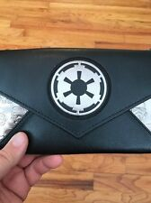 Disney Star Wars Envelope Wallet With Chain Imperial Logo Purse