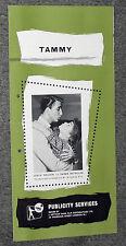 TAMMY AND THE BACHELOR original 1957 pressbook DEBBIE REYNOLDS/LESLIE NIELSEN