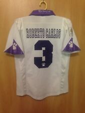 REAL MADRID 1997/1998 HOME FOOTBALL SHIRT JERSEY CAMISETA ROBERTO CARLOS #3