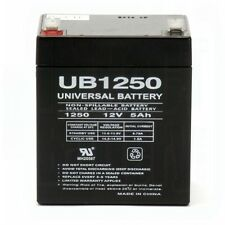 NEW 12V 5AH Sealed Lead Acid Battery for Alarm Systems and Home Security