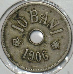 Romania 1906 10 Bani 152035 combine shipping