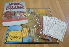 Wine Cellar (Board Game, 1971) tasting social California Advisory RARE COMPLETE!