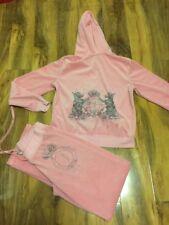 Juicy Couture Ladies Pink Tracksuit Size L