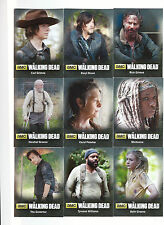 The Walking Dead Trading Cards Season 4 Part 1 Chase Card Sub Set C01-09
