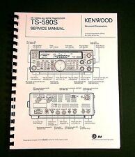Kenwood TS-590S Service Manual - Premium Card Stock Covers & 28 LB Paper!