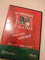 Dvd  los payasos de la tele ¿como estan ustedes? /capitulos 1,2 ,3 gabi, fofo...