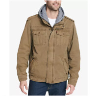 Men's Levi's Trucker Jacket w/ Quilted Lining Color: Khaki Size: M, L MSRP $160