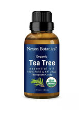 Organic Tea Tree Essential Oil 30 ml - USDA Certified Pure, Natural Undiluted...