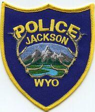 JACKSON WYOMING WY POLICE PATCH