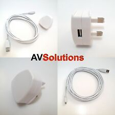 Power Supply/Adaptor & Cable for 3rd Generation Nest Thermostat (2 Mtrs/White)