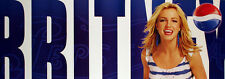 BRITNEY SPEARS 2001 PEPSI WORLD TOUR ORIGINAL PROMO POSTER