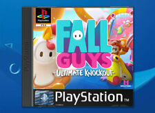 Fall Guys PS4 Fan Custom PlayStation PS1 Style Covers - No Game / Case