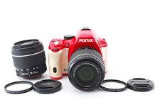 PENTAX K-50 16.3MP Caméra SLR Numérique Avec / Deux Lentille Set Par Fedex [ EXC