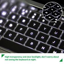 """UK EU TPU Keyboard Cover For New 13"""" 16"""" MacBook Pro With Touch Bar A1706 A1707"""