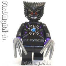 M004 Lego Custom X-men Custom Dark Beast Custom / Dark Wolverine Minifigure NEW