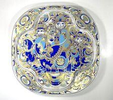 Bjorn Wiinblad Rosenthal Three Kings Christmas Wall Plate-Crystal 1978
