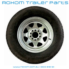 "10"" Boat Trailer Multi Fit Wheel and Tyre. Ford / Holden Stud Pattern Brand New!"