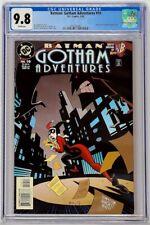 Batman Gotham Adventures #10 DC 1999 CGC 9.8 Harley Quinn Joker Top Census Grade