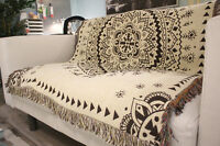 tapestry throw blanket rugs ethnic tribal mandala hangings geometric indian *