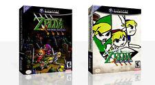The Legend of Zelda Four Swords Adventures Game Cube Case + Box Art Work No Game