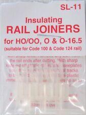 PECO SL-11 HO/OO, O & O-16.5 INSULATED TRACK JOINERS