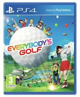 Sony Everybody's Golf PS4 - Family Game for Sony PlayStation 4 NEW