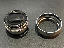 FUJIFILM X100 WCL-X100S II Silver Wide Conversion Lens w/ JJC X100 Hood Kit