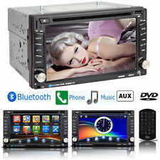 "Bluetooth 6.2"" Double 2Din Touchscreen Car DVD CD Radio Player USB/SD/TV/FM/AM"