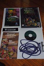 Legend of Zelda: Four Swords Adventures (GameCube, 2004) w/GBA Link Cable